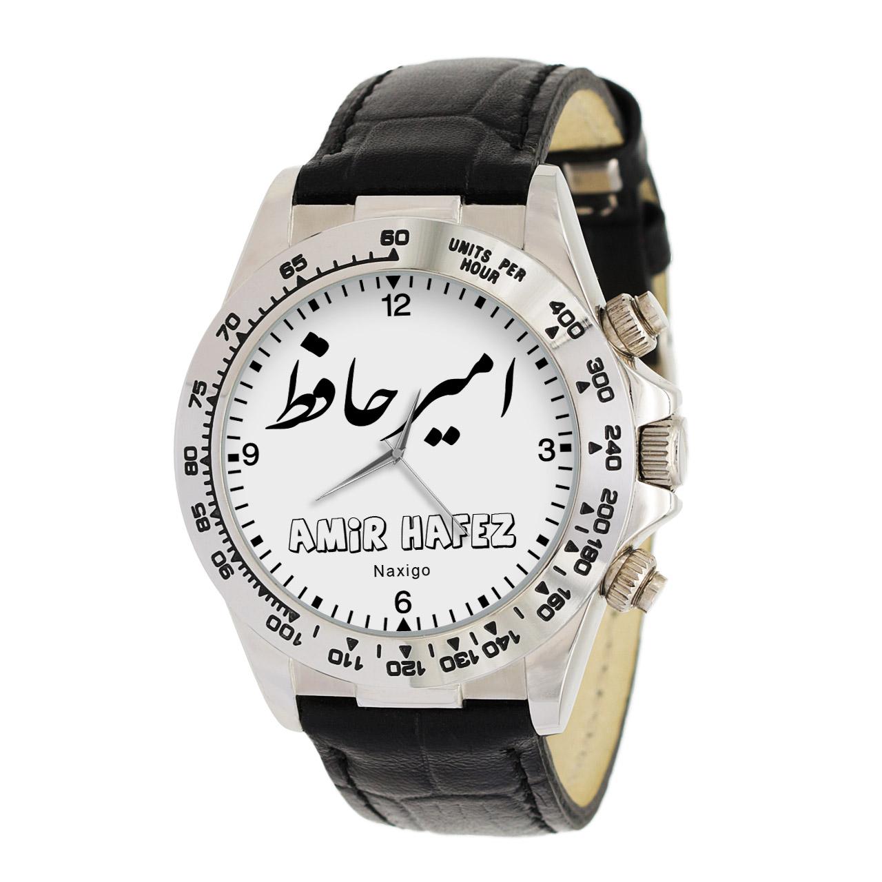 قیمت                      ساعت مچی عقربه ای مردانه ناکسیگو طرح امیر حافظ کد LS3726