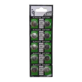 باتری ساعتی AG10 مدل TAKK-10 بسته 10 عددی