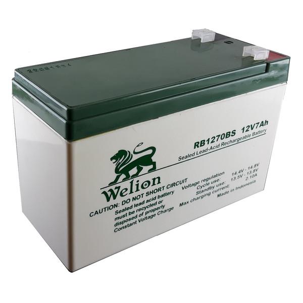 باتری 12 ولت 7 آمپر ویلیون مدل RB-1270BS