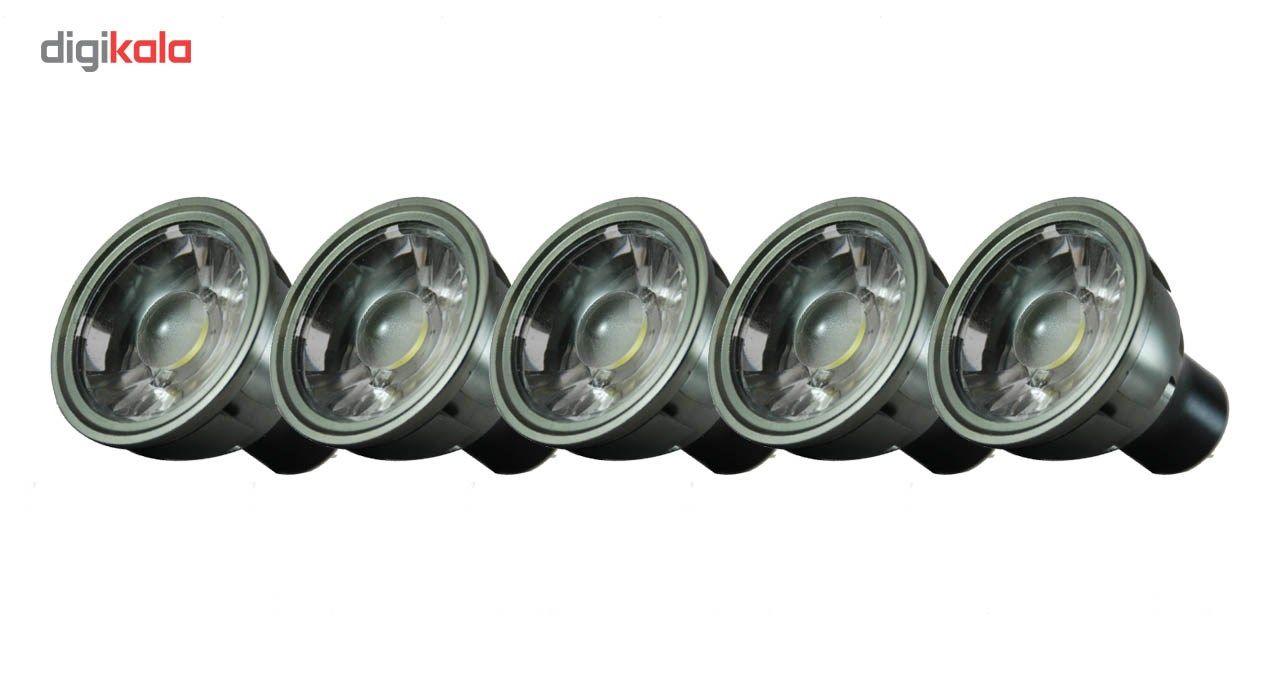 لامپ ال ای دی 7 وات تکنوتل مدل 5507 پایه GU5.3 بسته 5 عددی main 1 1