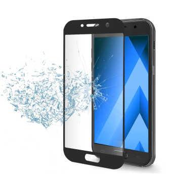 محافظ صفحه نمایش شیشه ای مدل 3D مناسب برای گوشی موبایل سامسونگ Galaxy A3 2017