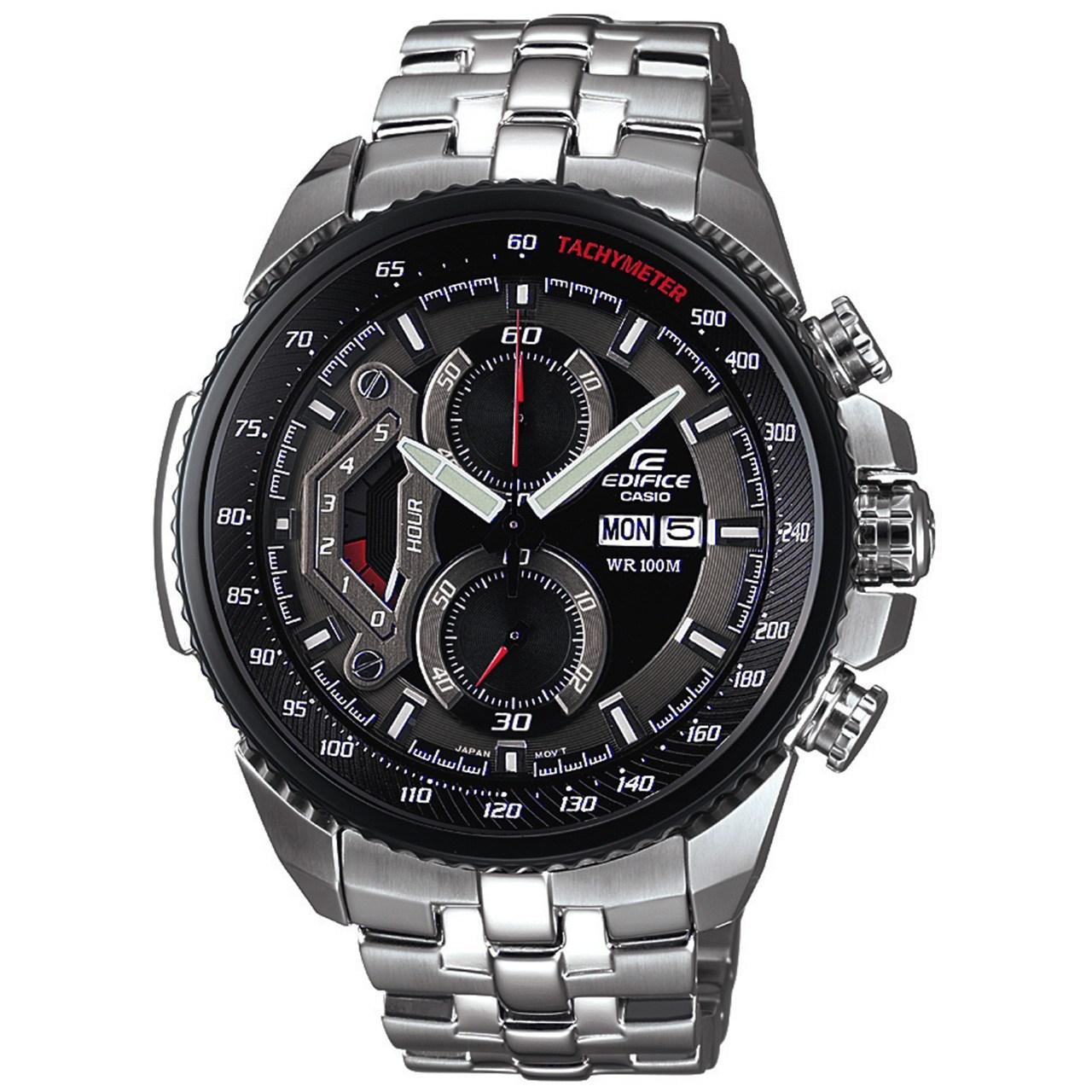 ساعت مچی عقربه ای مردانه کاسیو مدل Edifice EF-558D-1AVUDF              خرید (⭐️⭐️⭐️)