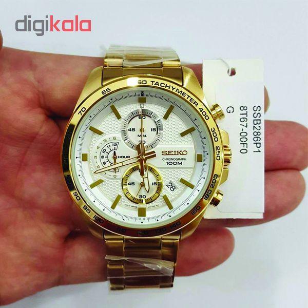 خرید ساعت مچی عقربه ای مردانه سیکو مدل SSB286P1