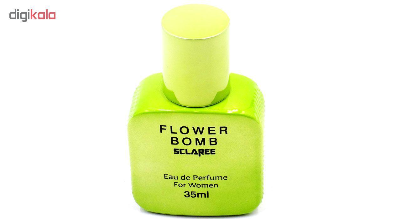 ادو پرفیوم زنانه اسکلاره مدل FLOWER BOMB حجم 35 میلی لیتر