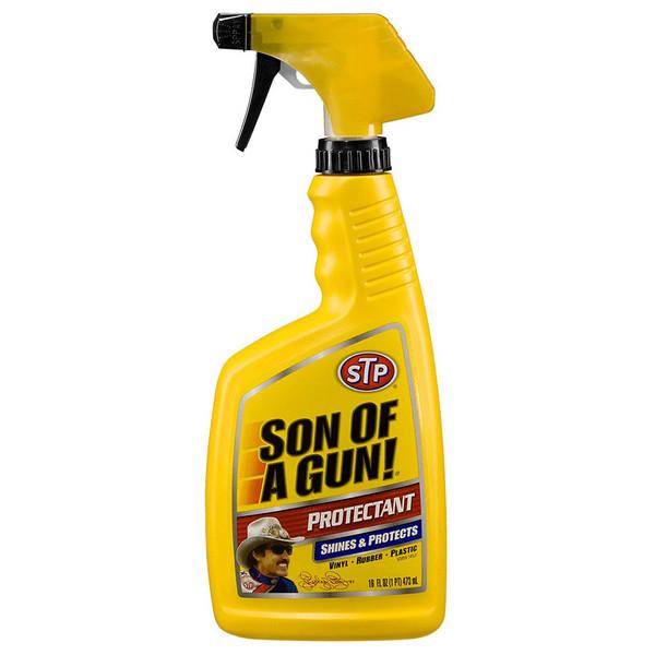 اسپری تمیز کننده و براق کننده خودرو اس تی پی مدل Son of a Gun