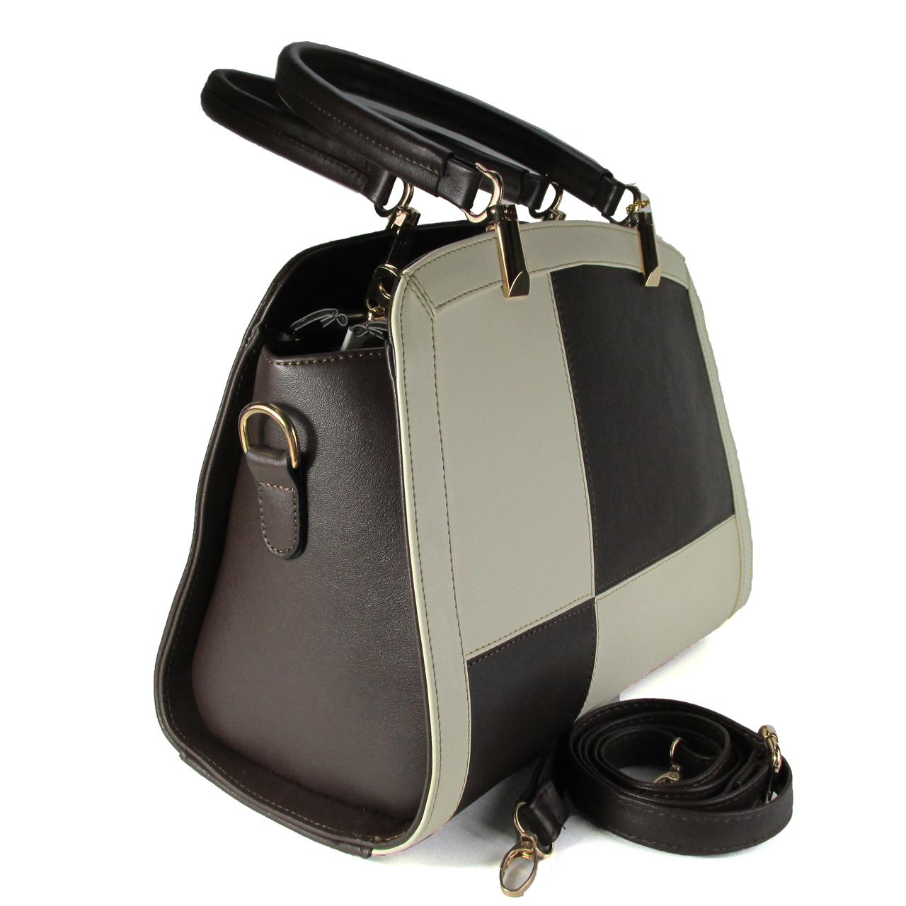 کیف دستی زنانه طرح تکه دوزی مدل K47KQ