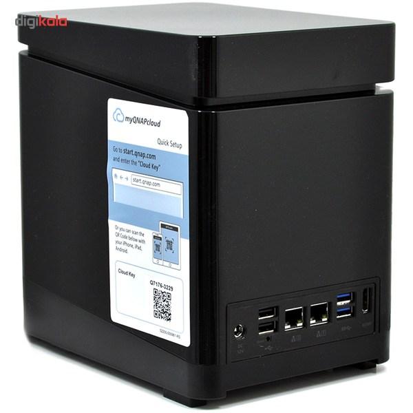 ذخیره ساز تحت شبکه کیونپ مدل TS-453-2G-Mini بدون هارددیسک