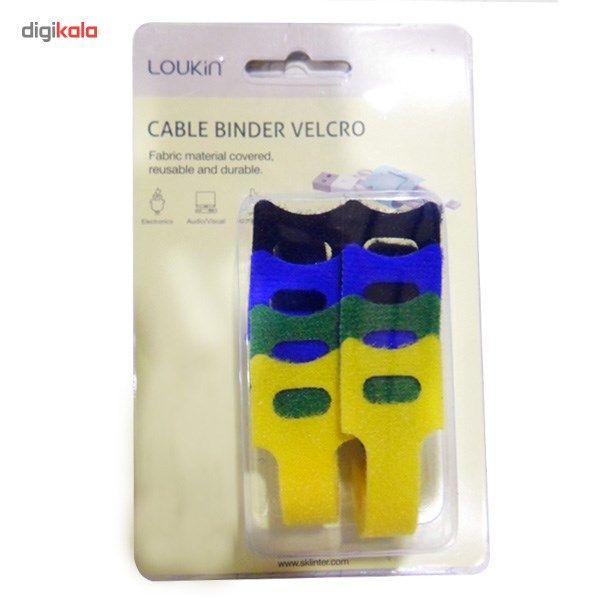 نگهدارنده کابل لوکین مدل Velcro MCC-022 Cable Binder main 1 2