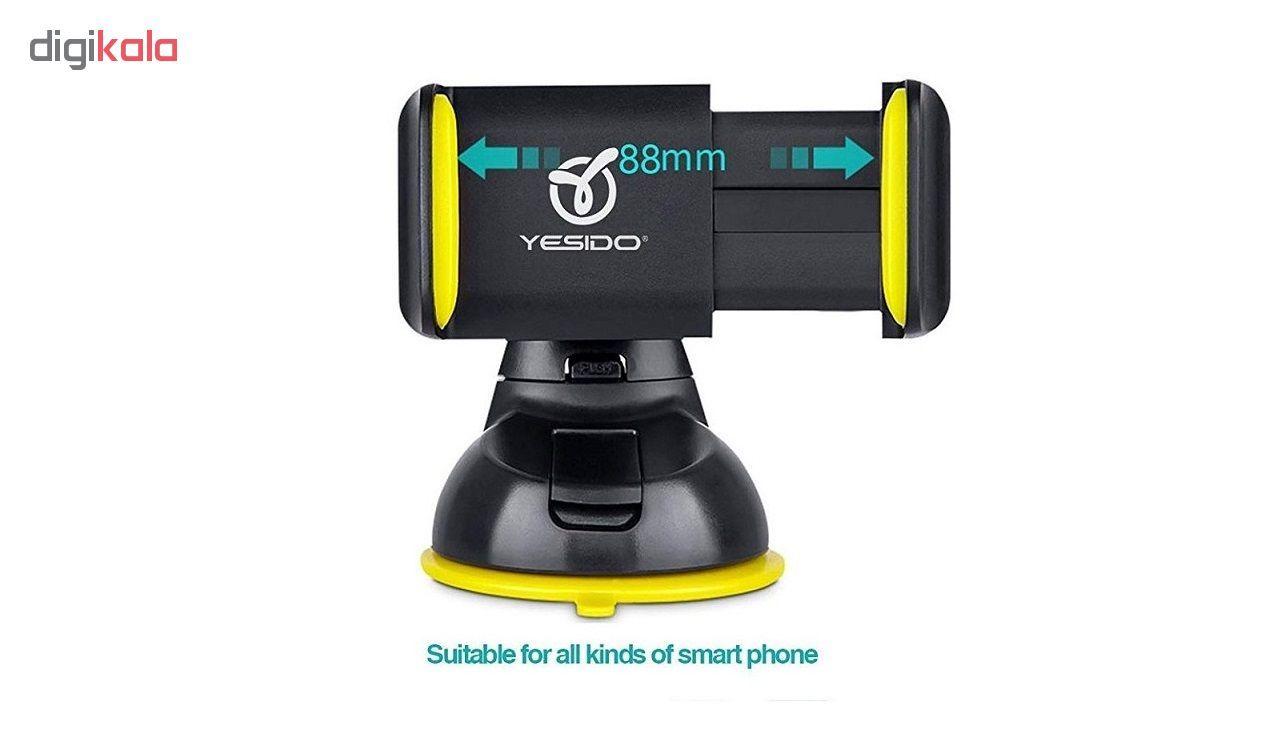 پایه نگهدارنده گوشی موبایل YESIDO مدل C2 main 1 4
