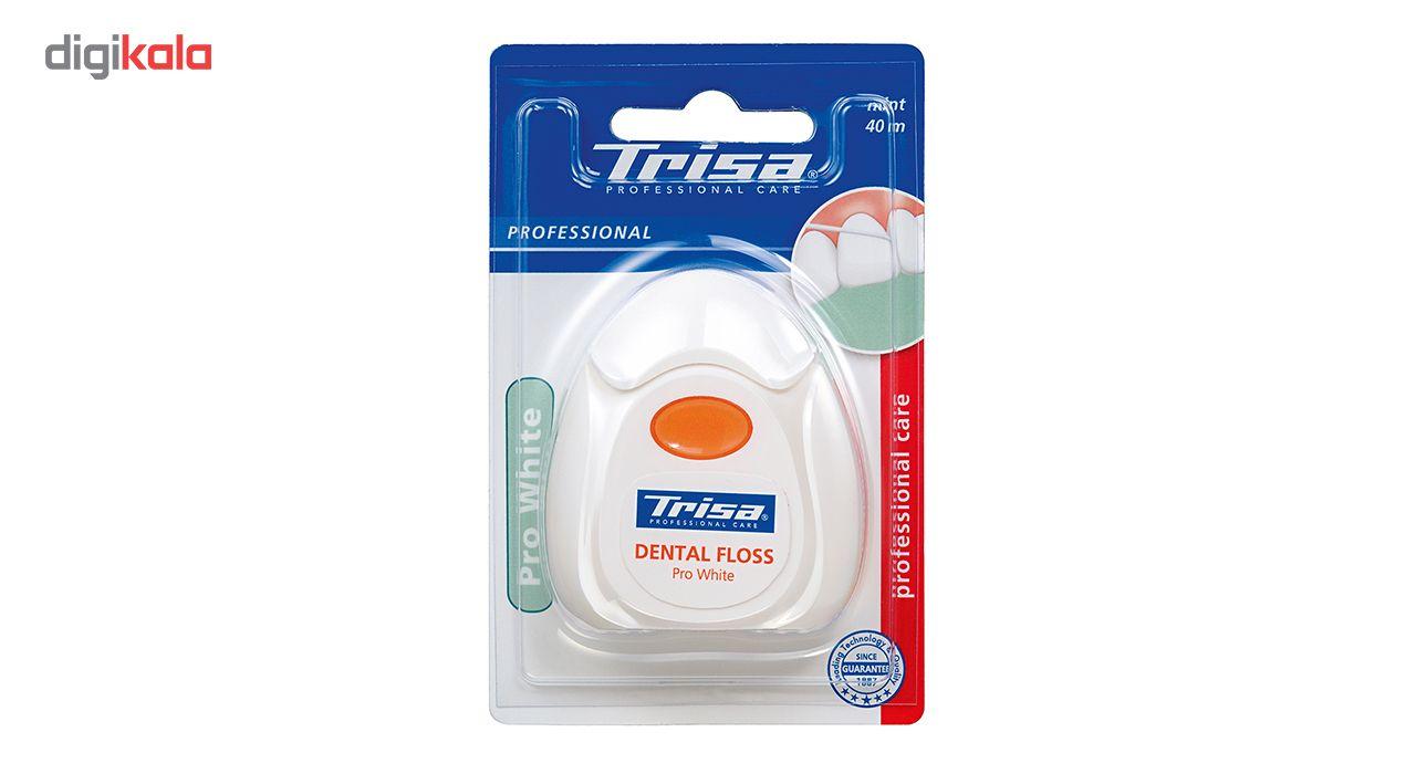 نخ دندان تریزا سری Professional مدل Pro White main 1 2