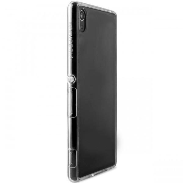 کاور پورو مدل Crystal Back Silicon Frame SNYXZ3PCLEAR مناسب برای گوشی موبایل سونی Xperia Z3 Plus