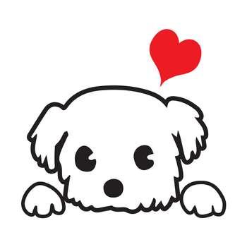 استیکر کلید پریز  طرح سگ مهربون