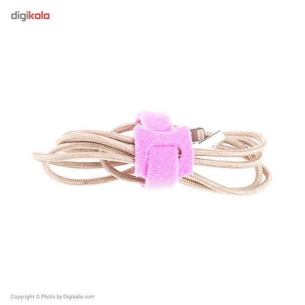 نگهدارنده کابل لوکین مدل Velcro MCC-022 Cable Binder main 1 3