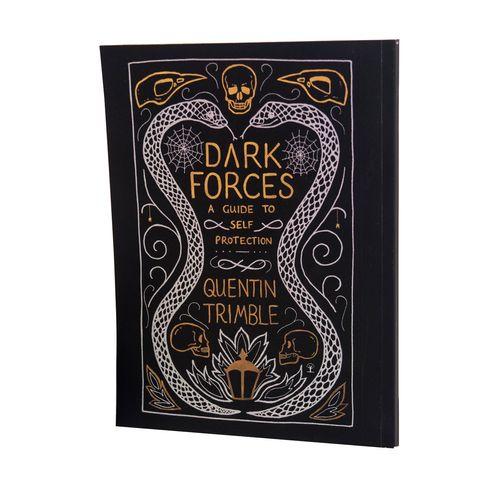 دفتر یادداشت بیگای استودیو طرح کتاب دفاع شخصی در برابر جادوی سیاه هری پاتر به همراه معجون لیوینگ دِد