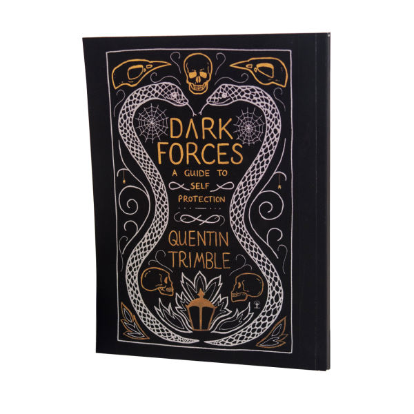 دفتر یادداشت بیگای استودیو طرح کتاب دفاع شخصی در برابر جادوی سیاه هری پاتر |