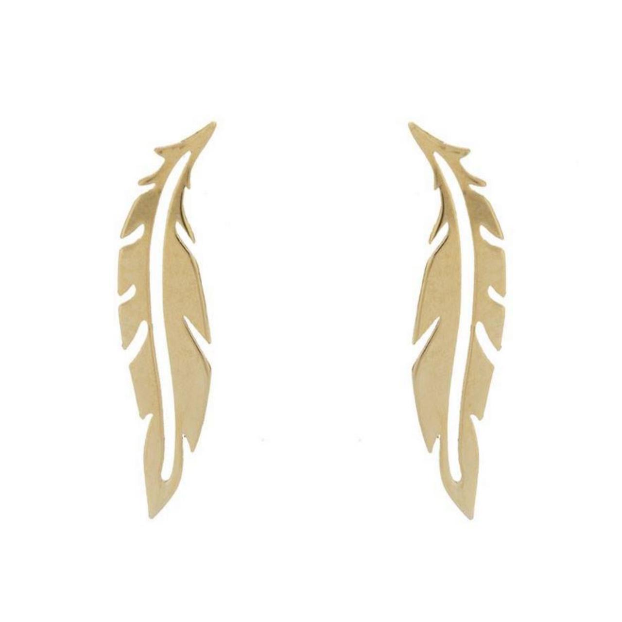 قیمت گوشواره طلا 18عیار الن نار مدل EL78