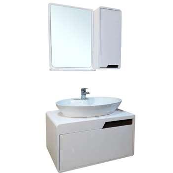 ست کابینت و روشویی مدل lu604001 به همراه اینه وباکس