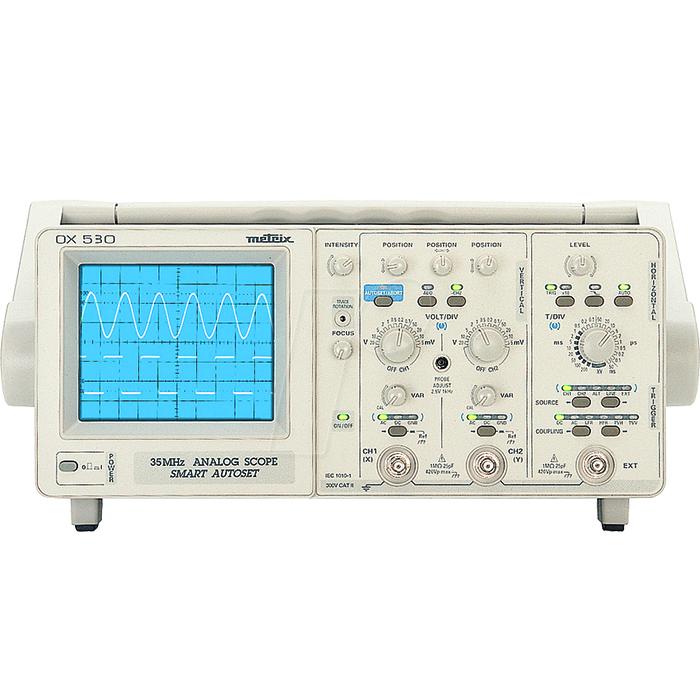 اسیلوسکوپ متریکس مدل OX530