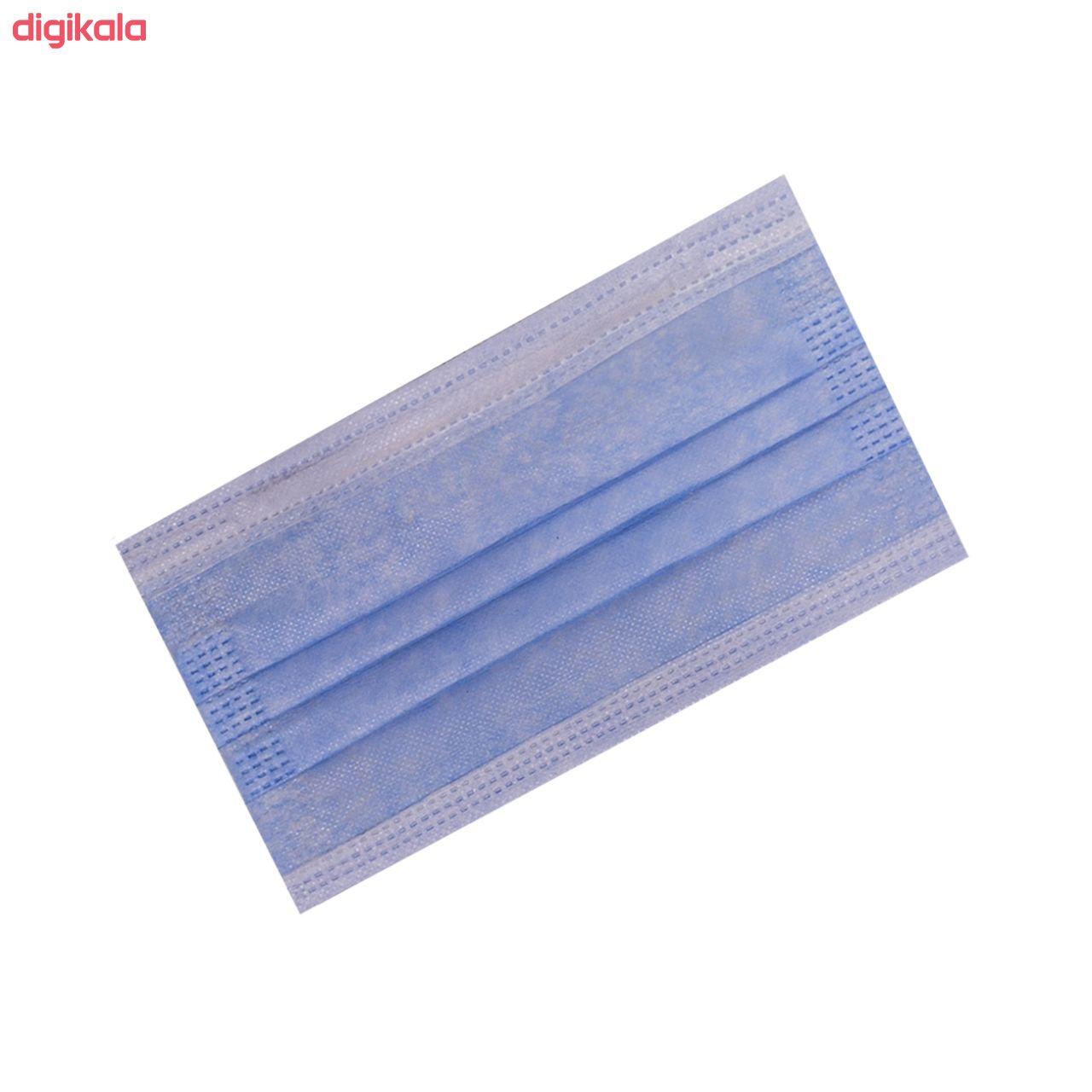 ماسک تنفسی انزانی مدل NI11 بسته 50 عددی main 1 2