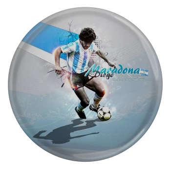 پیکسل بازیکن فوتبال بارسلونا اسپانیا دیگو آرماندو مارادونا مدل S4779