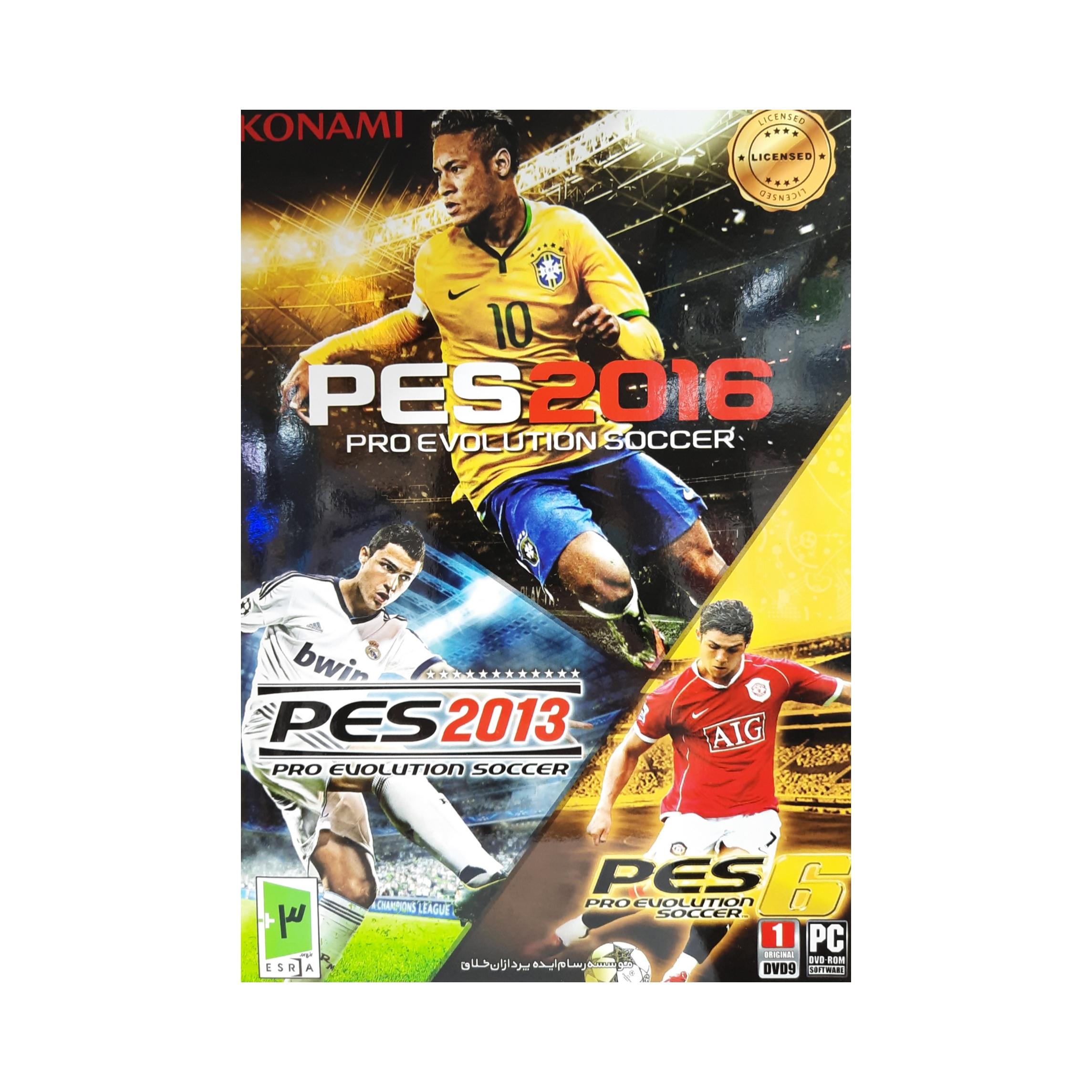 بازی کالکشن فوتبال pes مخصوص pc main 1 1