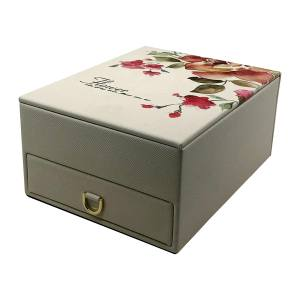 جعبه جواهرات مدل گل کد F300