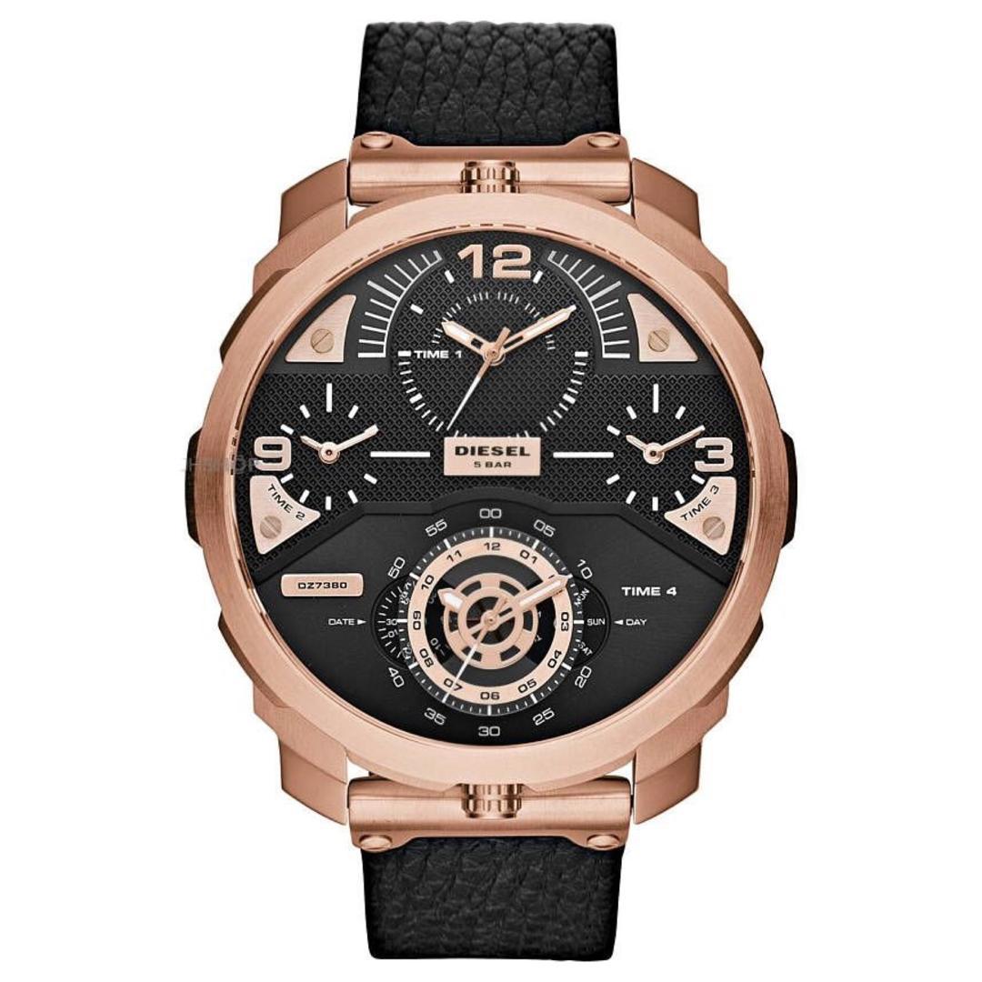قیمت                      ساعت مچی عقربهای مردانه دیزل مدل DZ7380