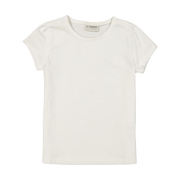 تی شرت دخترانه ال سی وایکیکی مدل 9SU978Z4-FFB
