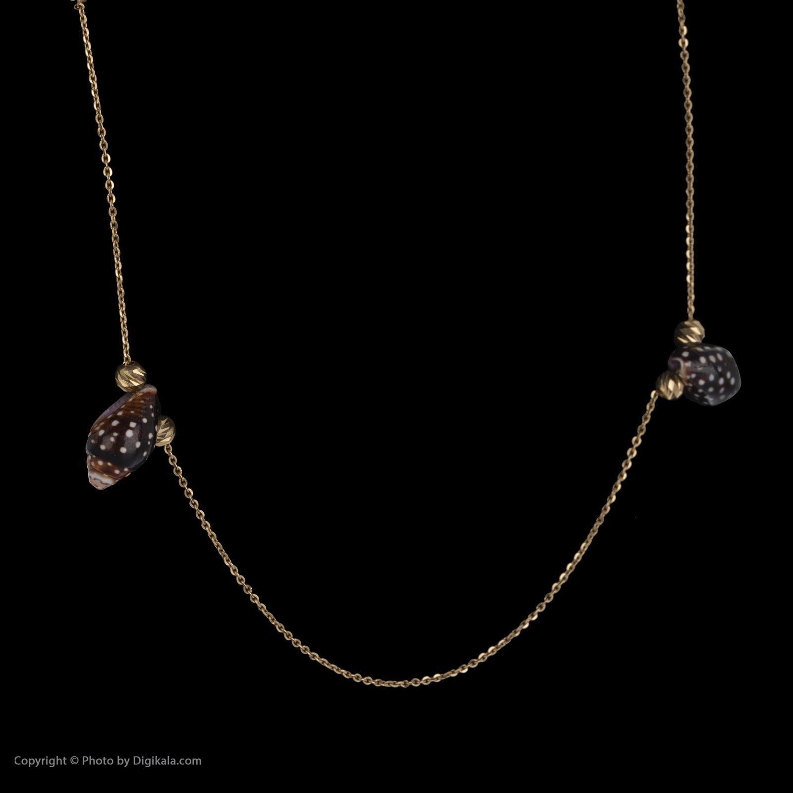 گردنبند طلا 18 عیار زنانه سیودو مدل 147638 -  - 4