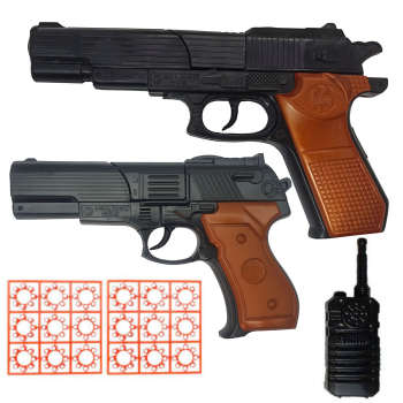 تفنگ بازی گلدن گان مدل naabsell-PA01 مجموعه 5 عددی