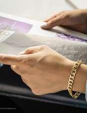 دستبند زنانه آیینه رنگی کد KR010 -  - 4