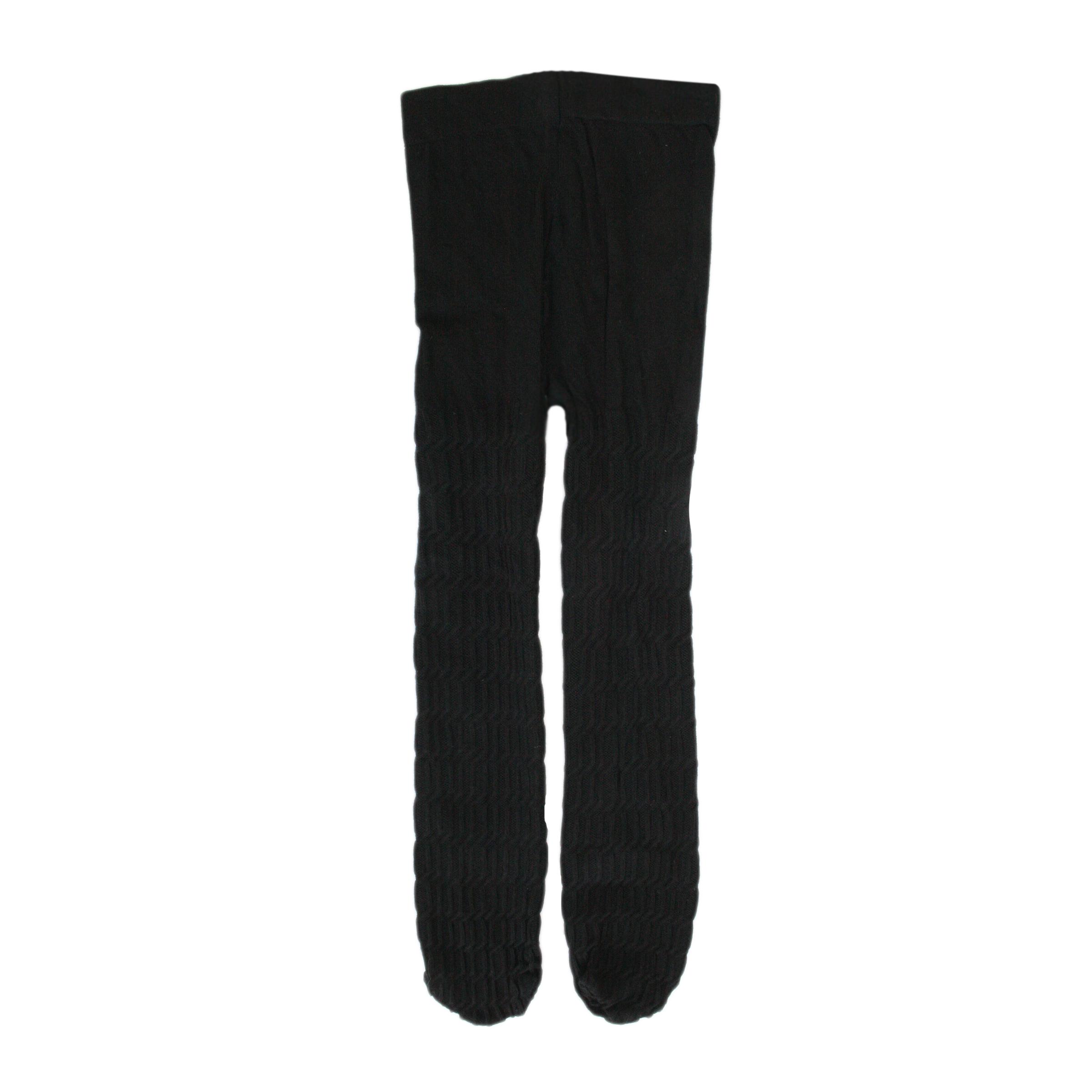 جوراب شلواری دخترانه کد 45 رنگ مشکی