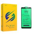محافظ صفحه نمایش سرامیکی فلش مدل +HD مناسب برای گوشی موبایل سامسونگ Galaxy A3 Core