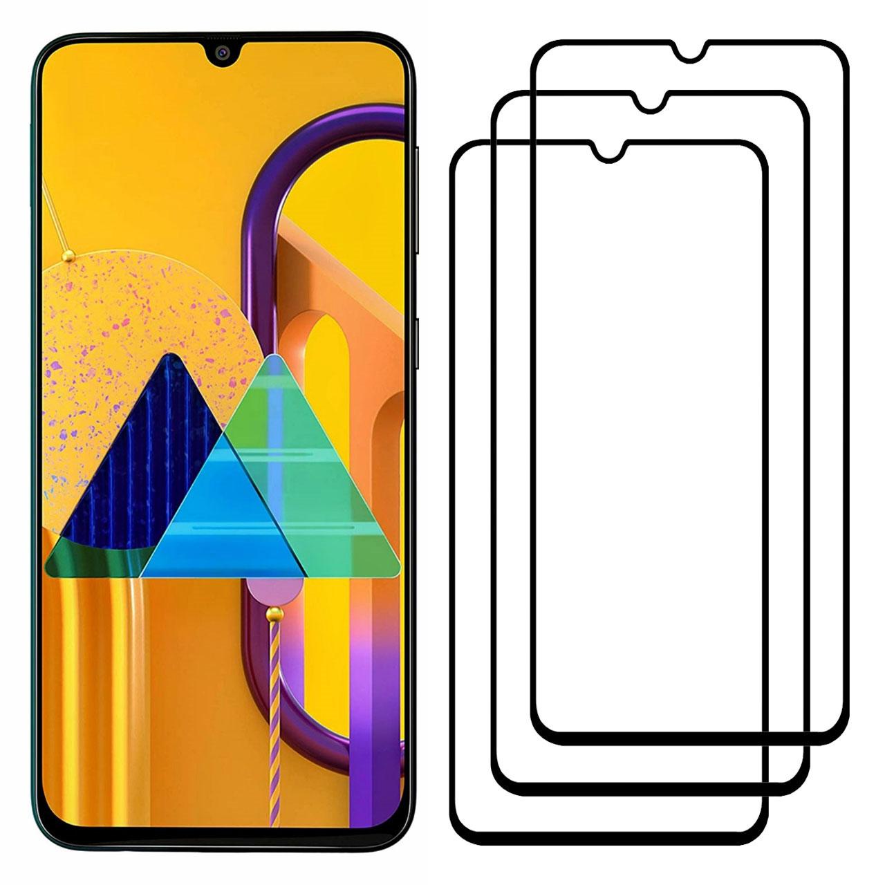 محافظ صفحه نمایش مدل FCG مناسب برای گوشی موبایل سامسونگ Galaxy M30s بسته سه عددی              ( قیمت و خرید)