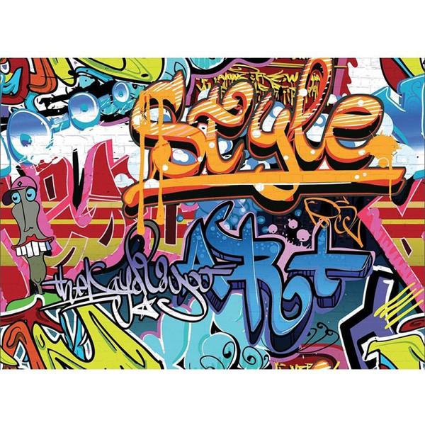 پوستر دیواری وان وال مدل W4P-Graffiti-001