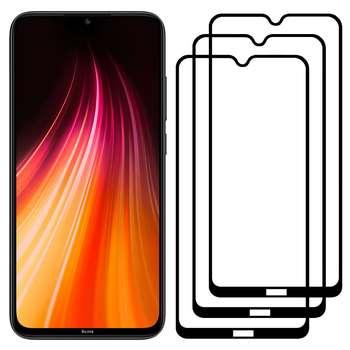 محافظ صفحه نمایش مدل FCG مناسب برای گوشی موبایل شیائومی Redmi Note 8 بسته سه عددی