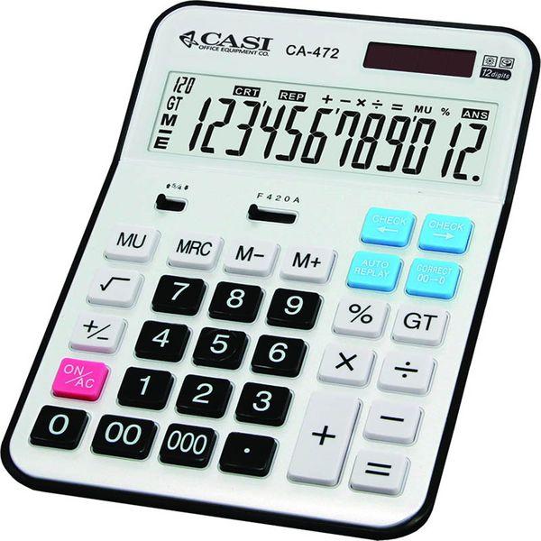 تصویر ماشین حساب کاسی مدل سی اچ ۴۷۲ CASI CH-472 Calculator
