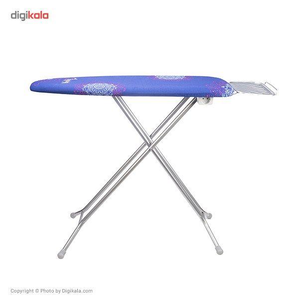 میز اتوی پایه بلند وانیلی مدل 10060 main 1 10