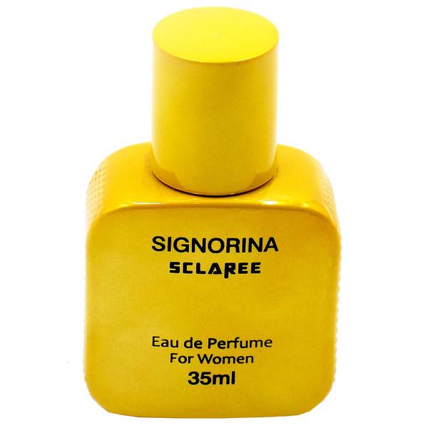 ادو پرفیوم زنانه اسکلاره مدل SIGNORINA حجم 35 میلی لیتر