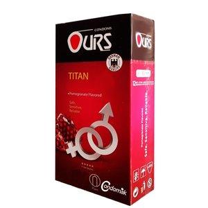 کاندوم تنگ کننده انار اورز مدل Titan بسته 12 عددی