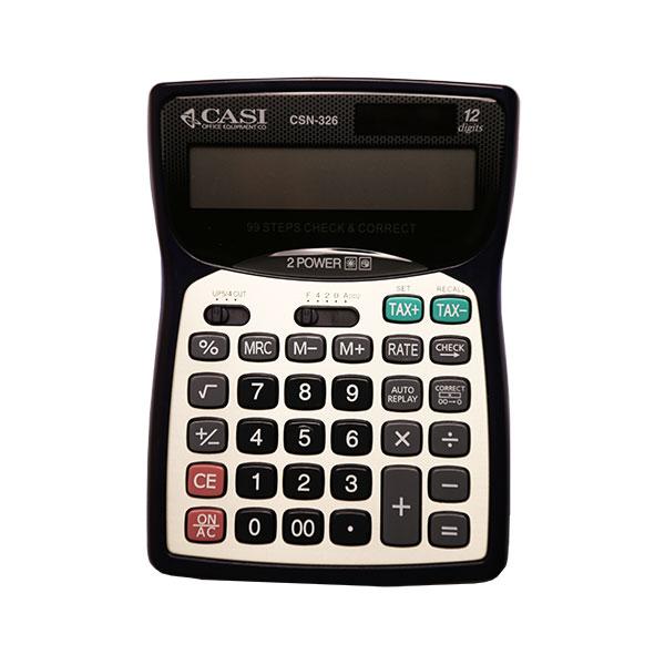 قیمت                      ماشین حساب کاسی مدل 326