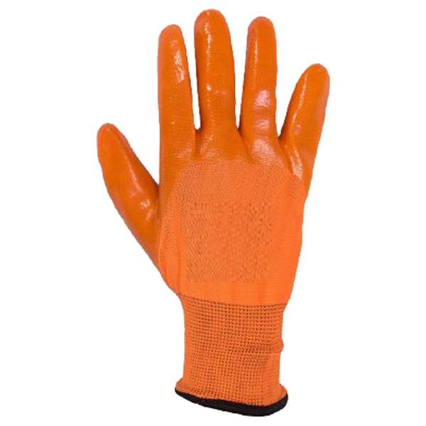 دستکش ضدبرش سبلان مدل ژله ای نارنجی