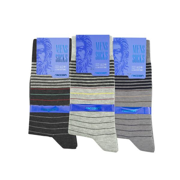 جوراب مردانه راکون مدل 102559 مجموعه 3 عددی