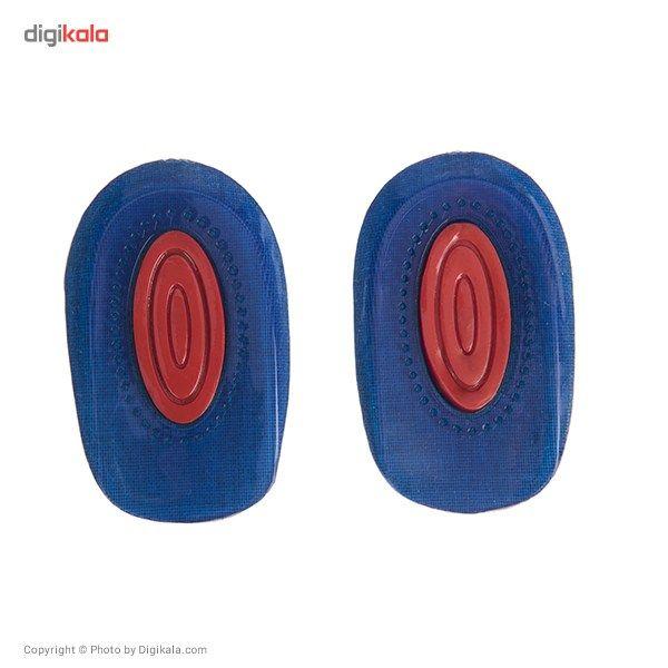 پاشنه زنانه فوت کر مدل Double Colour Heel Cushion  FootCare Double Colour Heel Cushion For Women