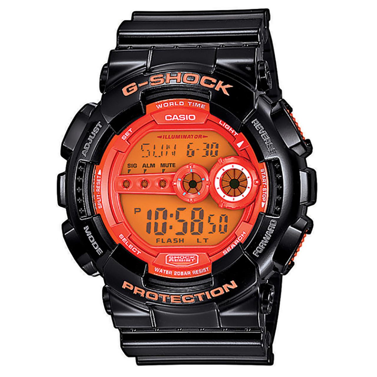 ساعت مچی دیجیتالی کاسیو جی شاک مدل GD-100HC-1DR