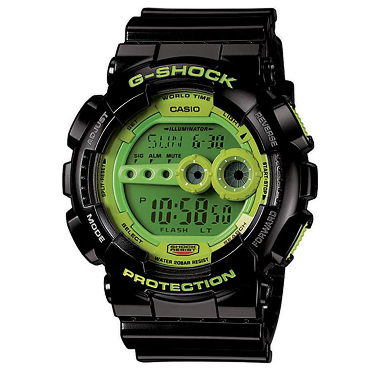 ساعت مچی دیجیتالی کاسیو جی شاک مدل GD-100SC-1DR