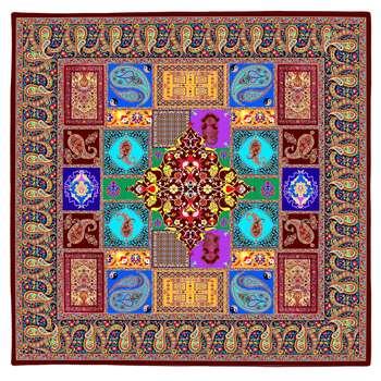 رومیزی طرح ترمه سنتی کد 9275.1