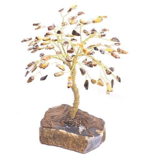 مجسمه تزئینی درخت سنگی بهگلد مدل T4BG