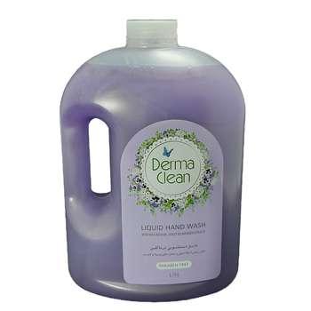 مایع دستشویی درماکلین مدل lavender حجم 3750 میلی لیتر