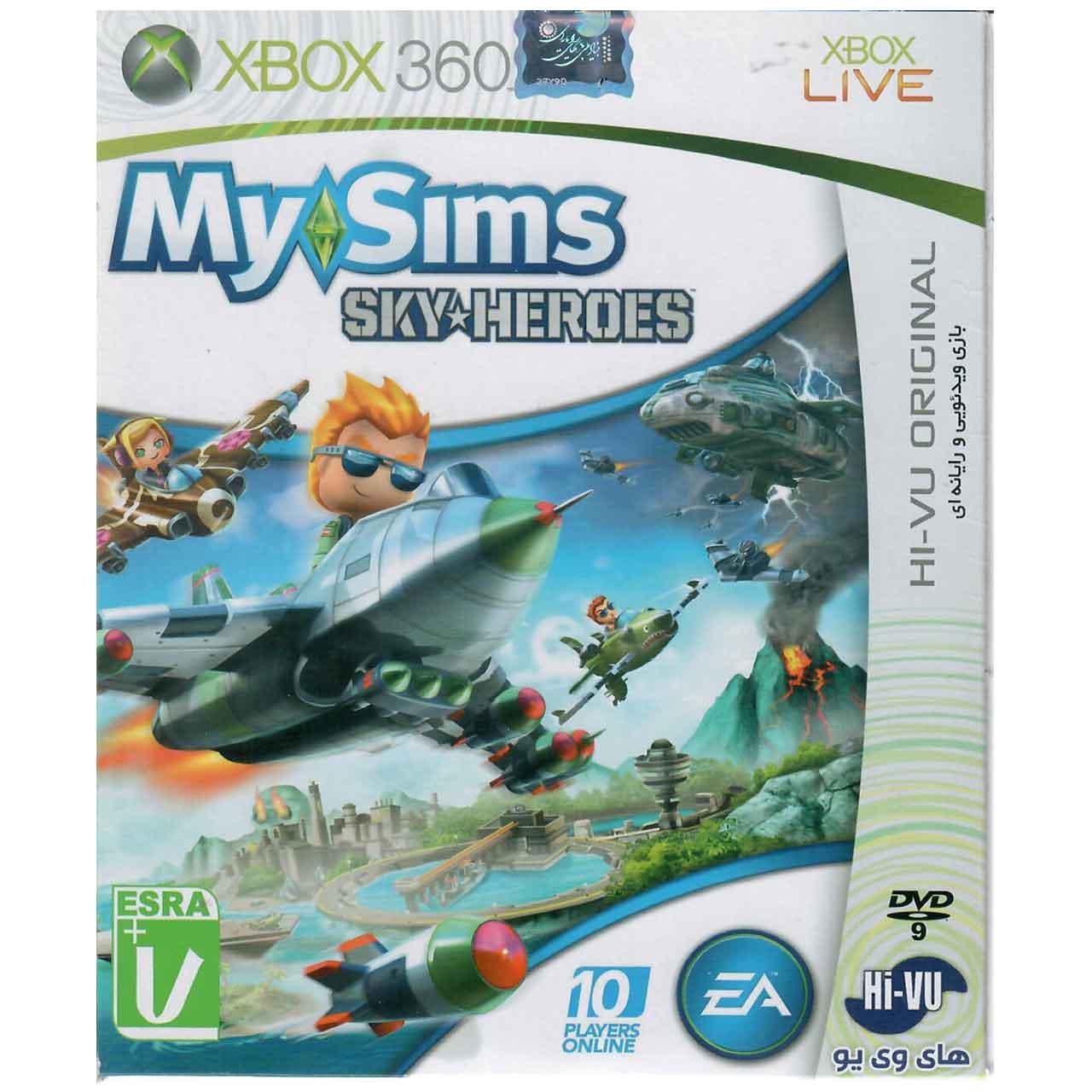 بازی My Sims Sky Heroes مخصوص XBOX 360